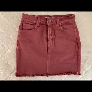 Dresses & Skirts - Rose Denim Skirt